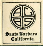 ACBS, Santa Barbara, California (23mm x 25mm). Courtesy of Robert Behra.