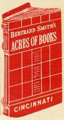 Bertand Smith's Acres of Books, Cincinnati, Ohio (21mm x 40mm, before 1934). Courtesy of Robert Behra.