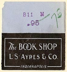 L.S. Ayres & Co., Indianapolis, Indiana (35mm x 37mm). Courtesy of S. Loreck.