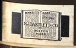 N.J. Bartlett & Co, Boston Mass (23mm x 13mm)