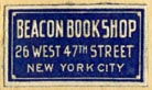 Beacon Book Shop, New York (22mm x 13mm)
