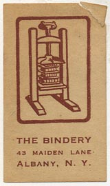 The Bindery, Albany, New York (25mm x 44mm)