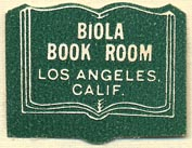 Biola Book Room, Los Angeles, California (28mm x 22mm). Courtesy of Donald Francis.