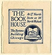 The Book House, Chicago, Illinois (28mm x 29mm). Courtesy of S. Loreck.