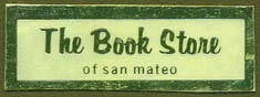 The Book Store, San Mateo, California (38mm x 13mm)