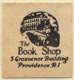 The Booke Shop, Providence, Rhode Island (23mm x 26mm)