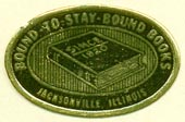 Bound-to-stay-Bound Books, Jacksonville, Illinois (27mm x 18mm, after 1970)