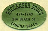 Buccaneer Books, Laguna Beach, California (25mm x 16mm)