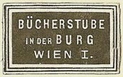 Bücherstube in der Burg, Vienna, Austria (23mm x 18mm). Courtesy of S. Loreck.