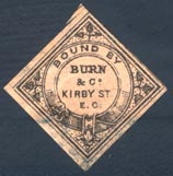 Burn & Co. (25mm x 25mm, ca.1870)