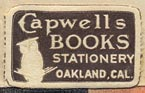 Capwell's Books, Oakland, California (23mm x 14mm)