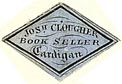 Joseph Clougher, Book Seller, Cardigan, Wales (20mm x 14mm, ca.1850s?). Courtesy of S. Loreck.