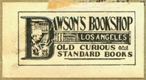 Dawson's Bookshop, Los Angeles, California (35mm x 20mm)