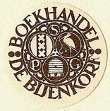 Boekhandel De Bijenkorf [dept store chain], Netherlands (25mm dia.). Courtesy of S. Loreck.