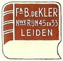B. DeKler, Leiden, Netherlands (21mm x 19mm). Courtesy of S. Loreck.