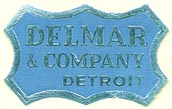 Delmar & Company, Detroit, Michigan (28mm x 17mm)