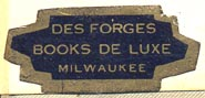 Des Forges, Milwaukee, Wisconsin (32mm x 14mm)