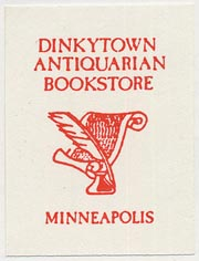 Dinkytown Antiquarian Bookstore, Minneapolis (29mm x 38mm)