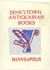 Dinkytown Antiquarian Books, Minneapolis, Minnesota (approx 27mm x 38mm)