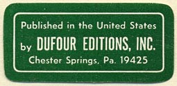 Dufour Editions, Chester Springs, Pennsylvania (42mm x 20mm)