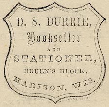 D.S. Durrie, Madison, Wisconsin