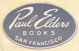 Paul Elder Books, San Francisco (26mm x 16mm, ca.1954)