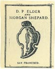 D.P. Elder and Morgan Shepard  (approx 18mm x 23mm)