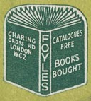 Foyles, London, England (19mm x 22mm).