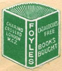 Foyles, London, England (19mm x 22mm). Courtesy of Robert Behra.