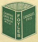 Foyles, London, England (20mm x 22mm).