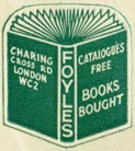 Foyles, London, England (20mm x 22mm, ca.1961). Courtesy of Robert Behra.