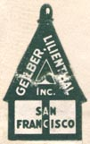 Gelber Lilienthal, Inc., San Francisco, Calif. (16mm x 27mm).