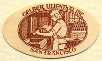 Gelber Lilienthal, Inc., San Francisco, California (33mm x 20mm)