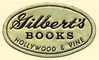 Gilbert's Books, Hollywood, California (32mm x 19mm)