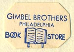 Gimbel Brothers, Philadelphia, Pennsylvania (23mm x 15mm)