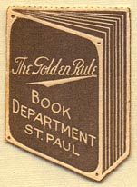 The Golden Rule, St. Paul, Minnesota (33mm x 23mm)