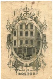 Thomas Groom & Co, Boston, Massachusetts (28mm x 43mm). Courtesy of Lewis Jaffe.