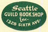 Seattle Guild Bookshop, Seattle, Washington (26mm x 17mm)