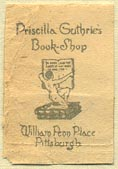 Priscilla Guthrie's Book-Shop, Pittsburgh, Pennsylvania (18mm x 27mm)