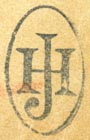 J. Hamelle, Paris, France (inkstamp, 13mm x 22mm). Courtesy of R. Behra.