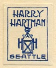 Harry Hartman, Seattle (17mm x 21mm)