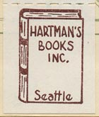 Hartman's Books, Seattle (21mm x 26mm)