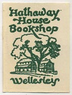 Hathaway House Bookshop, Wellesley (23mm x 30mm)