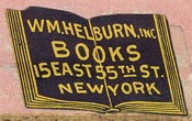 W.M. Helburn, New York (28mm x 16mm)