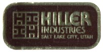 Hiller Industries, Salt Lake City, Utah (33mm x 15mm). Courtesy of Robert Behra.