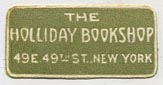 The Holliday Bookshop, New York (26mm x 13mm)