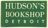 Hudson's Bookshop, Detroit, Michigan (25mm x 14mm)