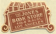 The Jones Book Store, Los Angeles, California (37mm x 23mm)