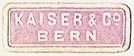 Kaiser & Co., Bern, Switzerland (21mm x 7mm). Courtesy of S. Loreck.