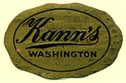 Kann's [dept store], Washington, DC (28mm x 18mm)